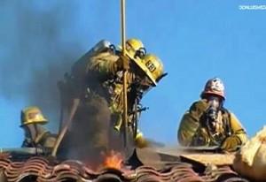 La Quinta Apt fire Palmdale 2