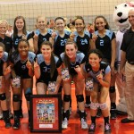 Local girls part of championship volleyball team
