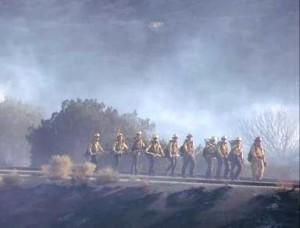 Palmdale wildfire 7.29.13 2