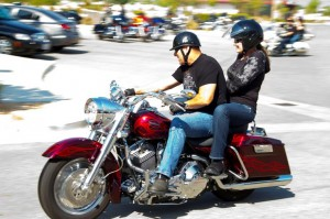The cost to participate is $30 per rider and $35 per couple, with proceeds benefiting families of fallen officers. (KARINA CORNEJO)