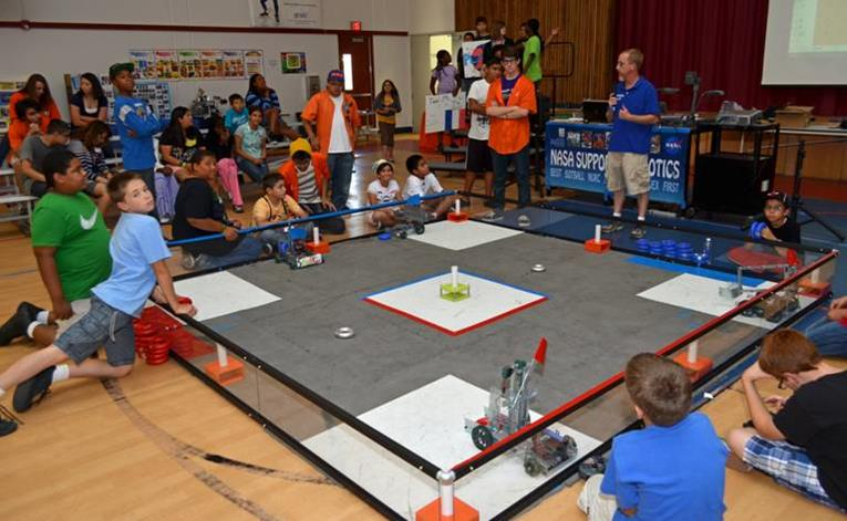 The Valley wide robotics camp culminated in a competition Saturday, June 29 at Joe Walker Middle School in Lancaster.