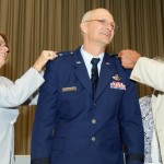 Bunch formally promoted to major general