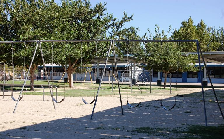 Community, volunteers, parents and school staff will facilitate a playground safety improvement project at Desert View as part of this years UNITE program.
