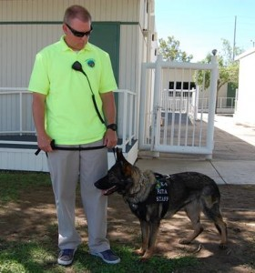 Guidance Charter School is the first charter school in the nation to purchase its own K-9 unit.