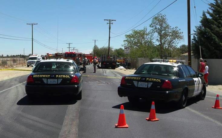 The fatal collision happened on Avenue T, just east of 80th Street East. (Photos by LUIS MEZA)