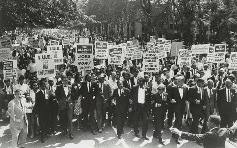 On August 28, 1963, more than 200,000 Americans gathered for the 'March on Washington,' a political rally that was a key milestone in the civil rights movement. (Image courtesy Wikimedia Commons) The local chapter of the NAACP is commemorating the March on Washington with an event on Aug. 24 at Growing Valley Baptist Church in Lancaster.