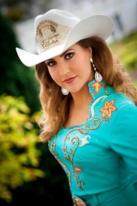 Miss Rodeo California 2013 Dakota Skellenger.  Photo by Wayne Capili of Interface Visual
