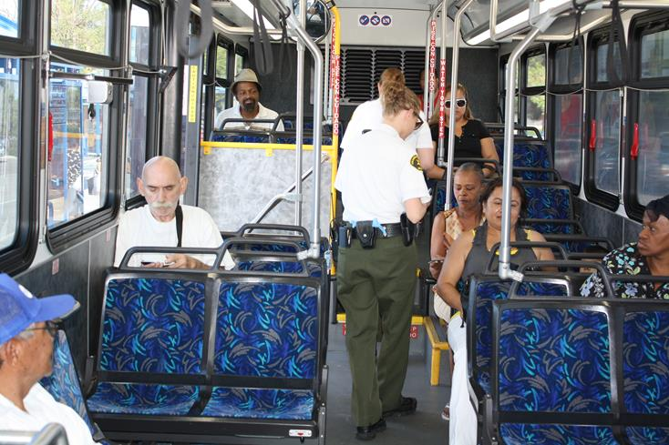 AVTA has increased its Sheriff's saturation patrols from twice a month to a weekly effort. (Photo courtesy AVTA)