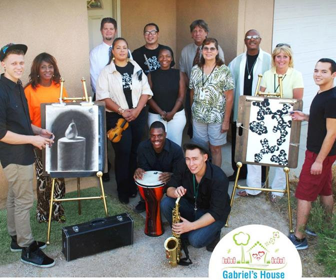 Gabriel's House will serve as a music and performing arts center to provide children in the area with the opportunity to develop their creative talents. (Photo courtesy City of Palmdale.)