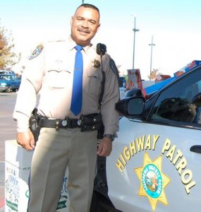 Local CHP officer Gil Hernandez.