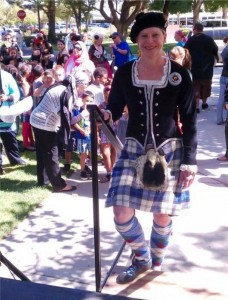 Scottish Highland dancer, Andria Witmer, will be performing.