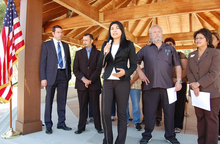 Palmdale business owner Roxana Martinez
