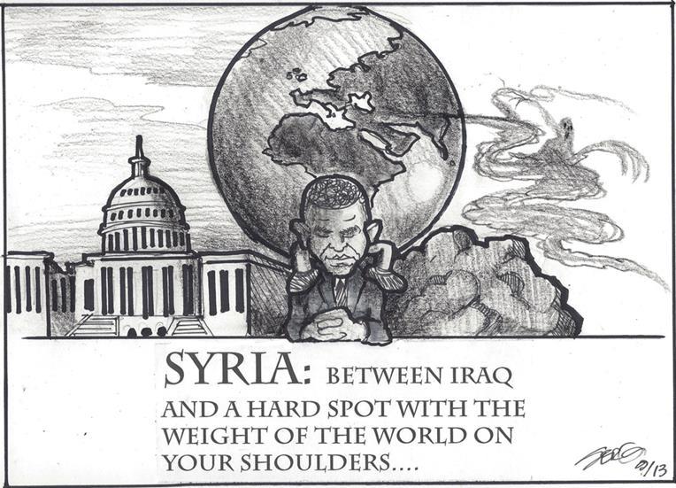 Satirical Sundays Syria