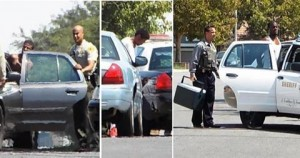 All three suspects were eventually caught and arrested. (LUIS MEZA)