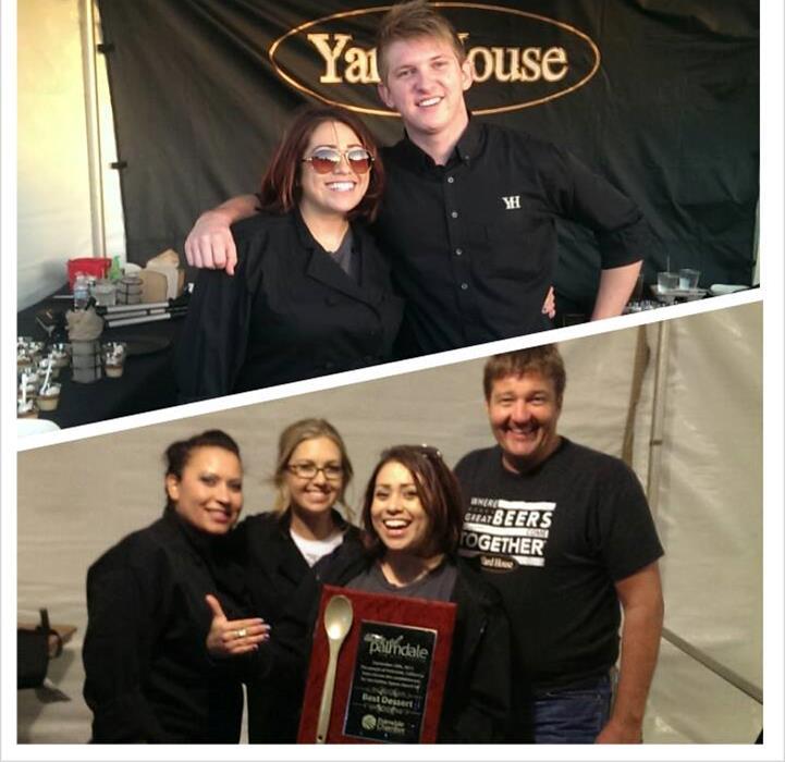 Yard House - Palmdale won Best Dessert, with a scrumptious salted caramel butterscotch pudding.