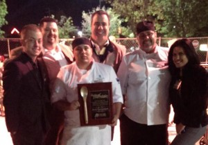 Fourteen Restaurant & Lounge was the 2013 Golden Spoon award winner for Best Restaurant. Their grilled cheese sandwiches were a hit with attendees.