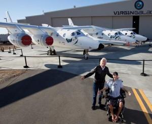 Sir Richard Branson and Mikey Oliveri. View Oliveri's story here.