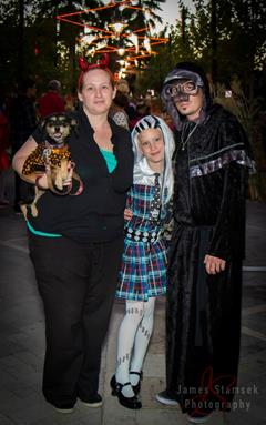 Attendees are encouraged dress in fun, creative costumes. (Photo by JAMES STAMSEK)