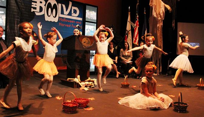 The YMCA ballet will perform on the Fig Avenue Stage at 5:30 p.m., Saturday, Oct. 26 during the BooLVD Halloween and Harvest Festival.