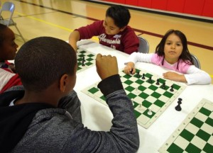 In a fun, hands-on way, chess helps kids improve their math and reading skills, organizers said. (Contributed photo)