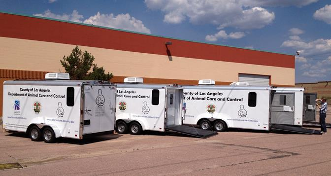 DACC animal trailers