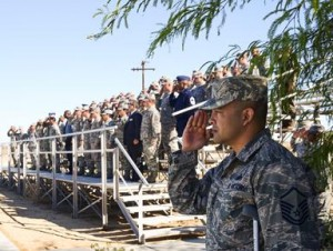 The graduation ceremony was attended by base leadership, friends and supervisors. (U.S. Air Force photo by Rebecca Amber)