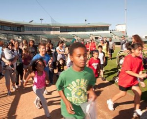The free community event offers a special fun run for the kids.
