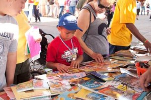 Every child that attends the event will take home an age appropriate book.