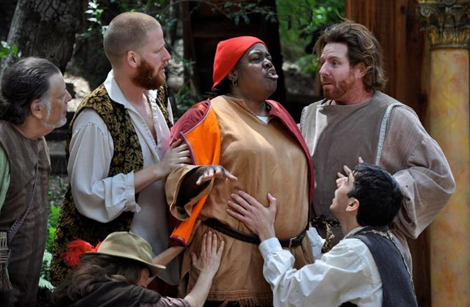Theatricum Botanicum will offer free admission to public performances of A Midsummer Night's Dream at The Lancaster Performing Arts Center this Sunday, Oct. 13 at 3 p.m. (Photo by Ian Flanders)