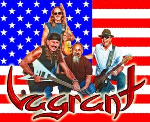 Vagrant X (Classic Rock Band) will perform at the G-Com Benefit Concert.