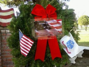 You can support Wreaths Across America Lancaster Cemetery by sponsoring a fresh balsam wreath for only $15. For details, contact Dayle DeBry at 661-942-6110. (Photo courtesy DAYLE DEBRY)