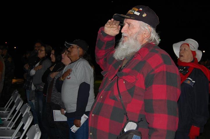 Vietnam War veteran Phil Roberts said the Wall was a symbol of peace and healing.