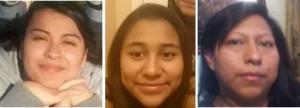 Abigail Romero, Katie Davila and Abigail Estrella.