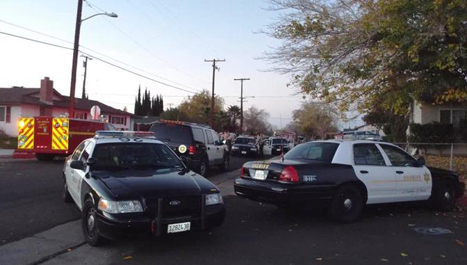 The incident happened in the 38600 Block of Glenraven Road and the suspect was spotted on 2nd Street East, just north of Q-4, officials said. (Photo by LUIS MEZA)