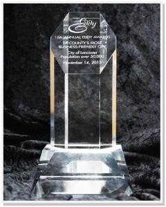 Eddy Award Lancaster