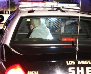 A second suspect was also detained after the brief car chase.