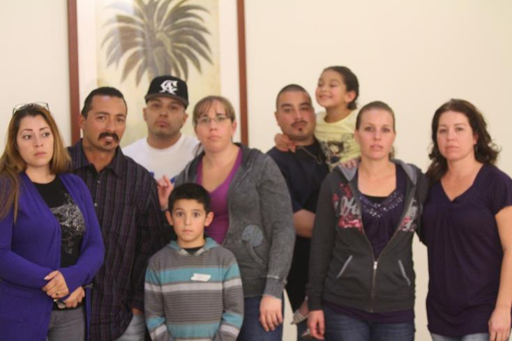Family members of Lucy Preciado said they had waited a long time for justice to be served. (Photo by TONY CHEVAL)