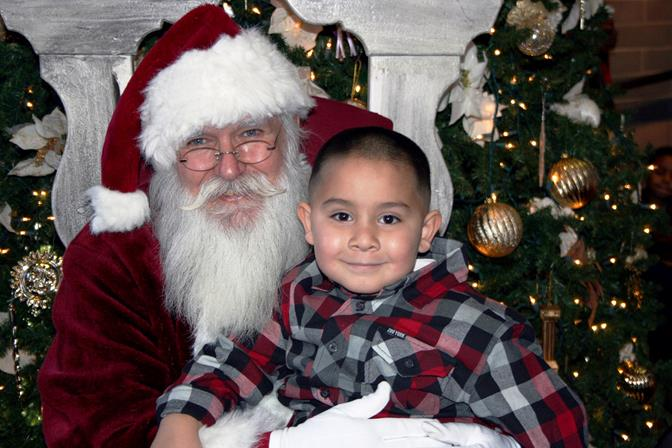 The fun begins with Santa Claus coming to the Palmdale Playhouse Open House starting Wednesday, Nov. 19.