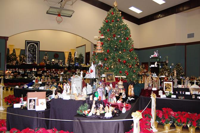 The free festival will give attendees a glimpse into 20 years of Christmas art and music in the Antelope Valley, and will feature more than 1,000 crèches from all over the world. (File)