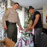 Local children get bikes for Christmas, thanks to AV Sheriff's Boosters