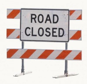 Blvd road closure