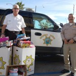 The local CHiPs for Kids Toy Drive last year collected more than 4,600 toys, which were distributed to local disadvantaged children. They're trying to surpass last year's efforts by collecting 5,000 toys this holiday season.