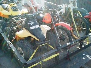 Deputies also seized motorcycles and off-road vehicles that were not registered to Willis.