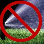 The Water Shortage Emergency Plan prohibits residents from watering their lawns more than three days a week.