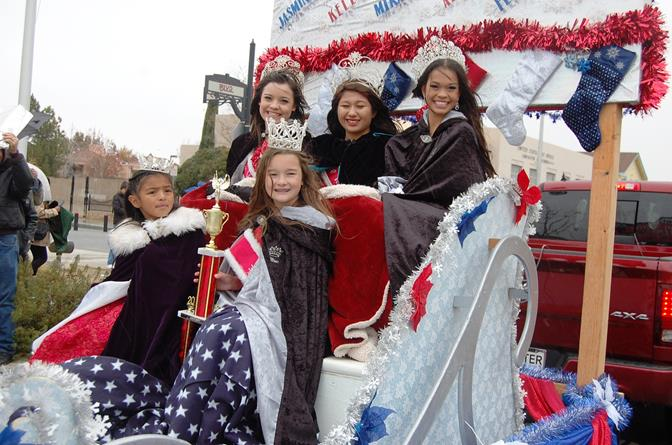 "The Antelope Valley Community Queens dazzled at the ""Star-Spangled Holiday"" parade."
