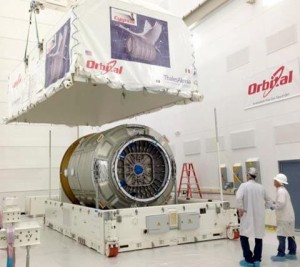 Orbital Sciences second Cygnus spacecraft has been named for the late NASA astronaut and research test pilot Gordon Fullerton. (Orbital)