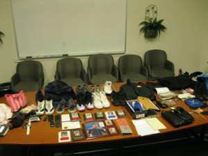 Four Lancaster residents were arrested and will be charged with residential burglary. (LASD)