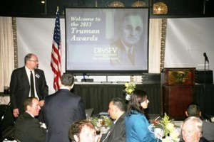 The Truman Awards honors outstanding democrats who embody President Harry S. Truman's legacy.