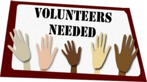 Volunteer needed1