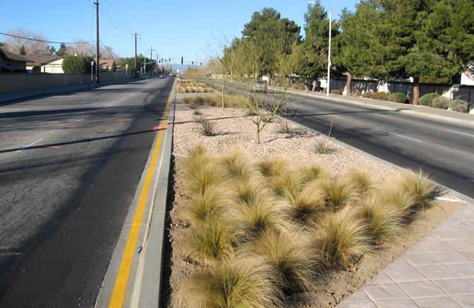 The city's Capital Improvement Program has utilized grant funds to complete projects such as the Avenue J Median Project, which allowed for the construction of landscaped medians between Challenger Way and 20th Street East.